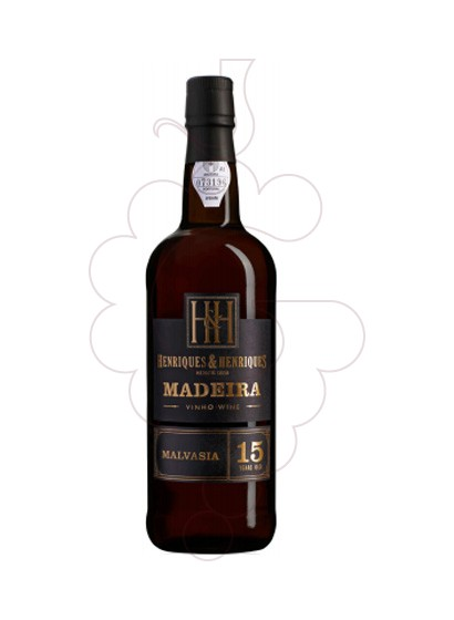 Photo Madeira H&H 15 Years fortified wine
