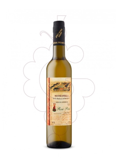 Photo Dios Baco Manzanilla Riá Pitá fortified wine