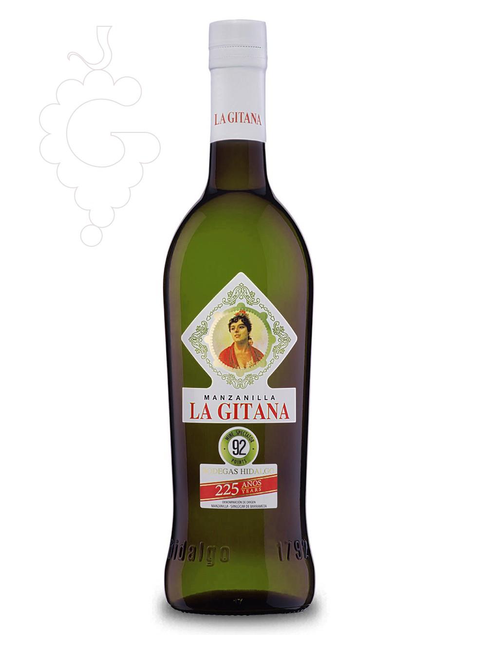 Photo Manzanilla la Gitana fortified wine