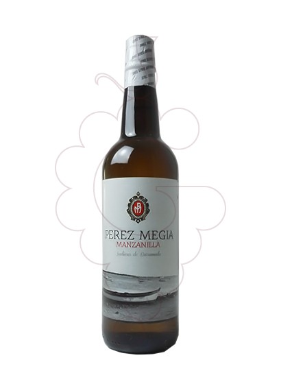 Photo Manzanilla Perez Megia fortified wine