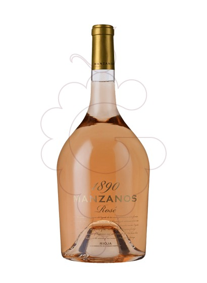 Photo Rosé Manzanos 1890 Magnum rosé wine