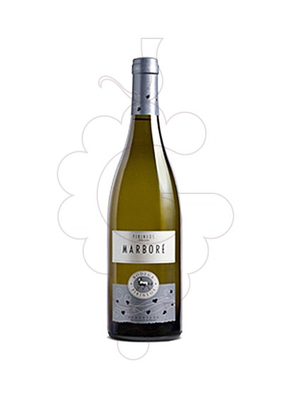Photo Marbore Blanc white wine