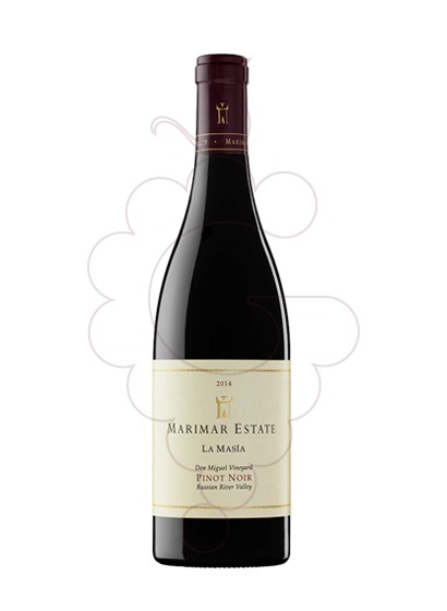 Photo Marimar Estate Pinot Noir red wine