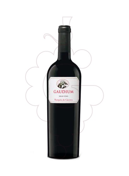 Photo Marques Caceres Gaudium red wine