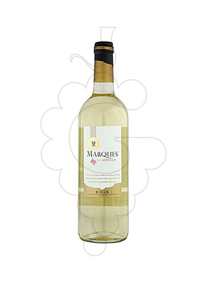 Photo Marques de Altillo Blanc  white wine