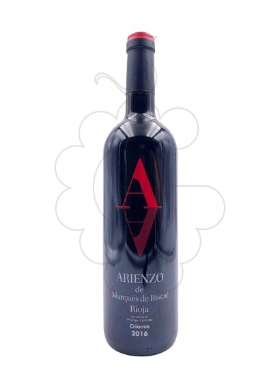 Photo Arienzo de Riscal Crianza red wine