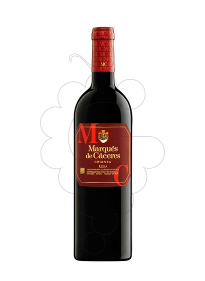 Photo Marques de Caceres Crianza red wine