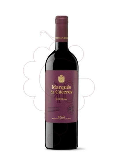 Photo Marques de Caceres Reserva red wine