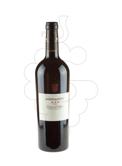 Photo Marques de Griñon AAA  red wine