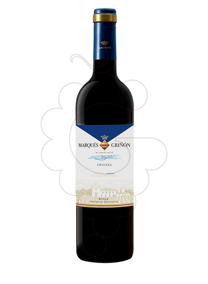 Photo Marques de Griñon Crianza red wine