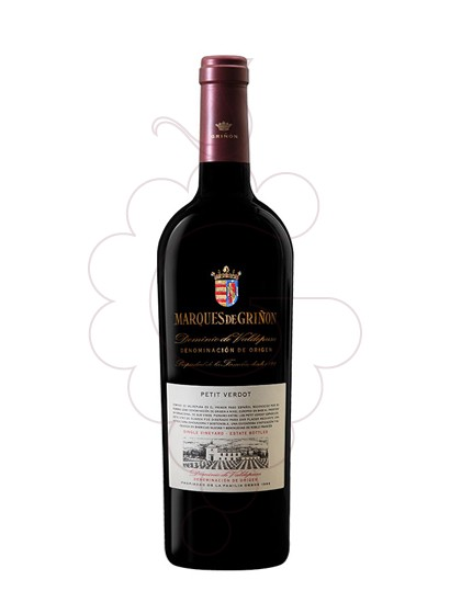 Photo Marques de Griñon Petit Verdot red wine