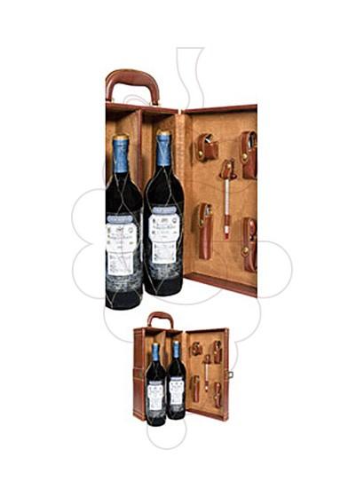 Photo Gift boxes Marqués de Riscal Gran Reserva 150 Aniversario Pack (2 u + wine