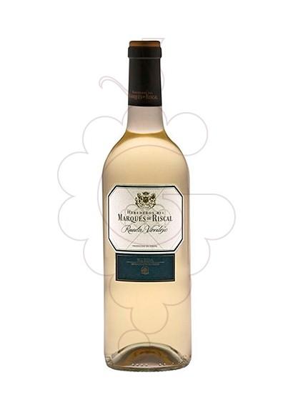 Photo Marques de Riscal Blanc Magnum white wine