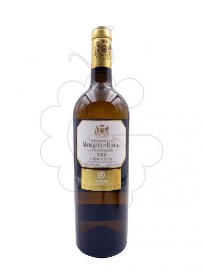 Photo Marques de Riscal Limousin white wine