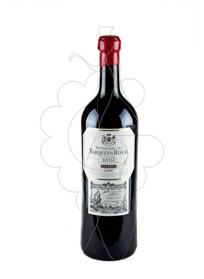 Photo Marques de Riscal Reserva Jeroboam red wine
