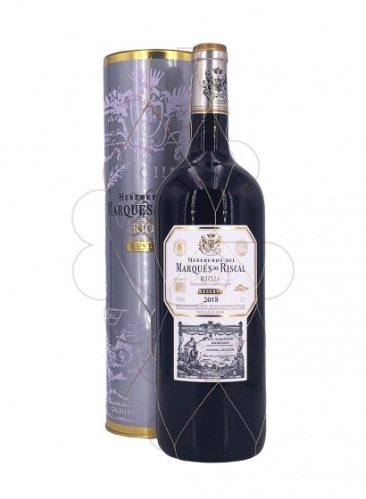 Photo Marques de Riscal Reserva Magnum red wine
