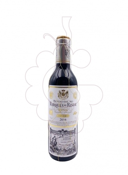 Photo Marques de Riscal Reserva (mini) red wine
