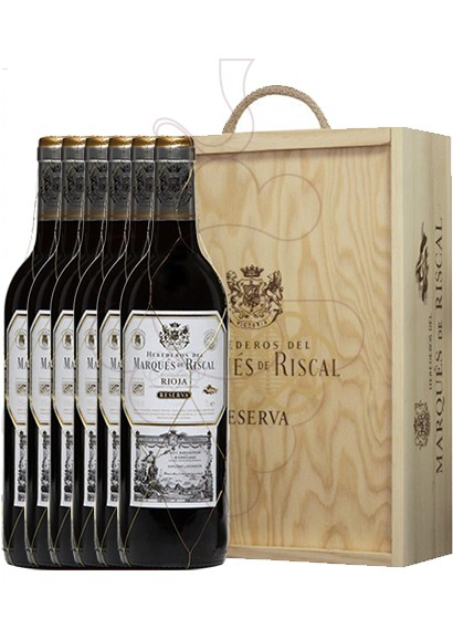 Photo Gift boxes Marques de Riscal Reserva (pack fusta 6 u.)
