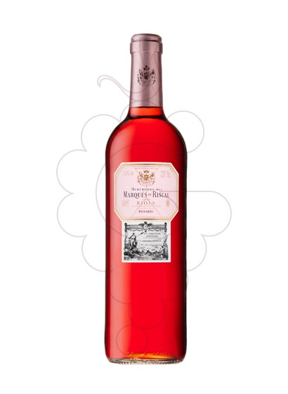 Photo Marques de Riscal Rosat rosé wine