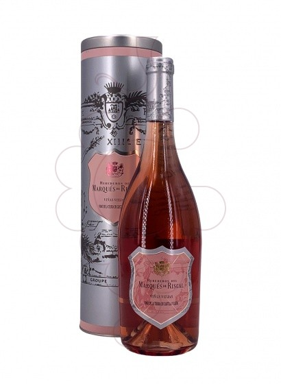 Photo Marqués de Riscal Viñas Viejas rosé wine