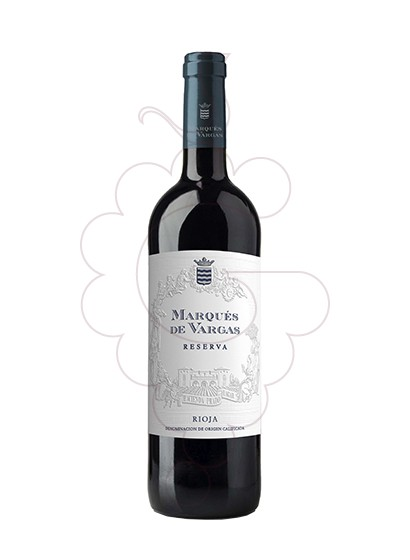 Photo Marques de Vargas Reserva red wine
