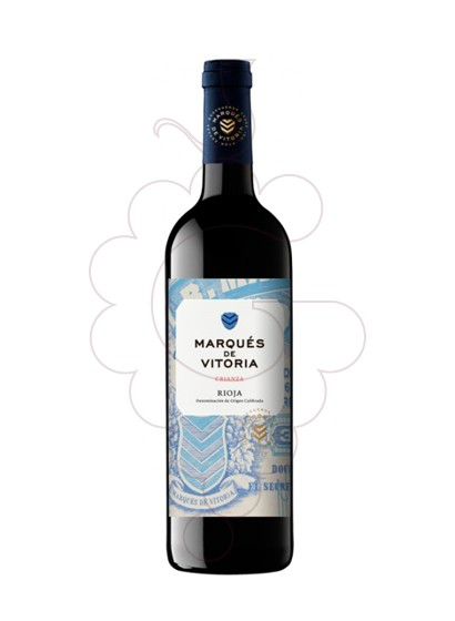 Photo Marques de Vitoria Crianza Magnum red wine