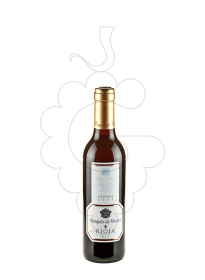 Photo Marques de Vitoria Crianza (mini) red wine