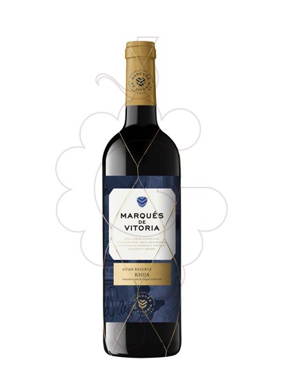Photo Marques de Vitoria Gran Reserva red wine