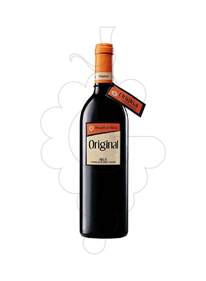 Photo Marques de Vitoria Original red wine