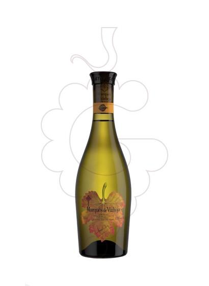 Photo Marques de Vizhoja Blanc (mini) white wine