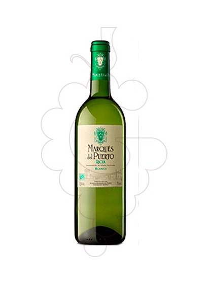 Photo Marques del Puerto Blanc white wine