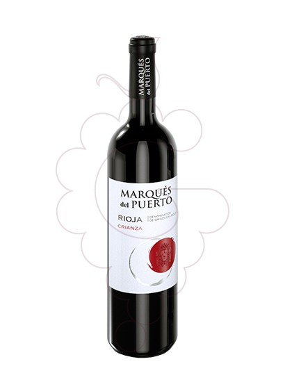 Photo Marques del Puerto Crianza Magnum red wine