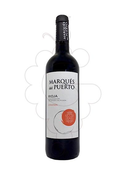 Photo Marques del Puerto Crianza red wine