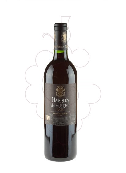 Photo Marques del Puerto Gran Reserva red wine
