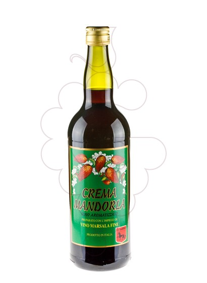 Photo Marsala La Canellese Crema Mandorla fortified wine