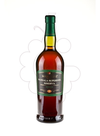 Photo Marsala Martinez Superiore Riserva Secco fortified wine