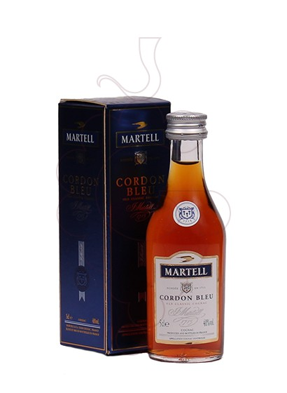 Photo Cognac Martell Cordon Bleu (mini)