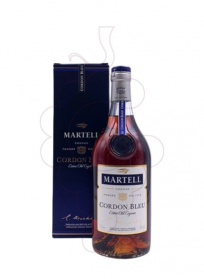Photo Cognac Martell Cordon Bleu