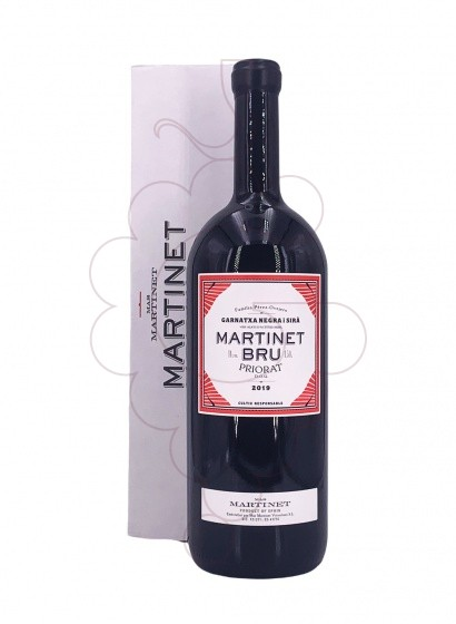 Photo Martinet Bru Magnum  red wine