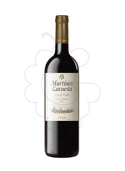 Photo Martinez Lacuesta Crianza red wine