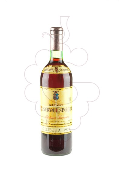 Photo Martinez Lacuesta Reserva Especial 1970 red wine