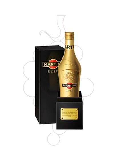 Photo Aperitif wine Martini Gold (Dolce Gabbana)