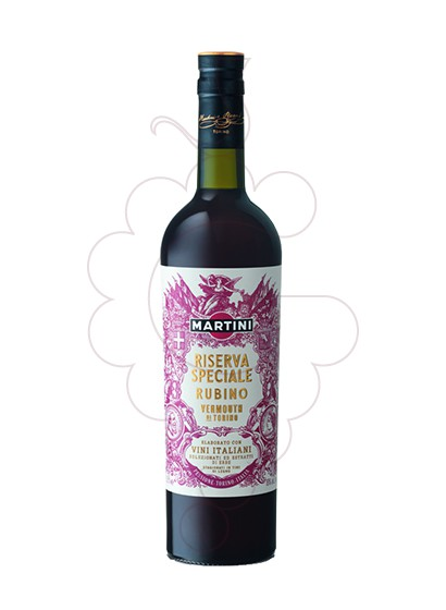 Photo Aperitif wine Martini Riserva Speciale Rubino