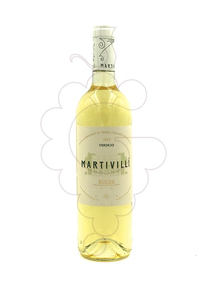 Photo Martivilli Blanc Verdejo white wine