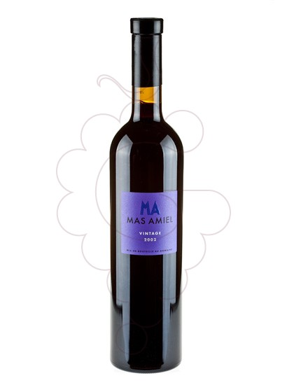 Photo Mas Amiel Vintage Reserve Maury fortified wine