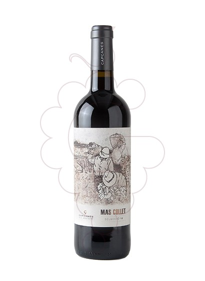 Photo Mas Collet Negre red wine