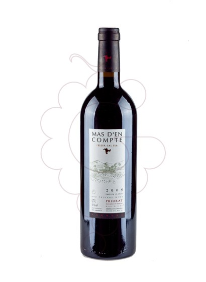 Photo Mas d'en Compte Negre red wine