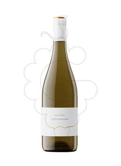 Photo White Mas Geli white wine