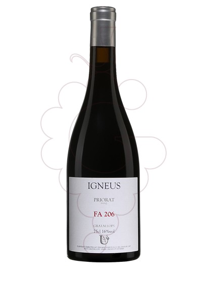 Photo Mas Igneus 206 red wine