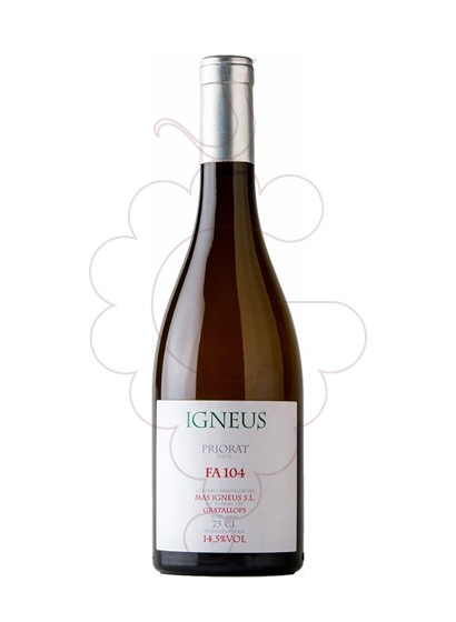 Photo Mas Igneus FA 104 white wine